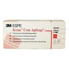 Ketac™ Cem Aplicap™ Glass Ionomer Luting Cement Capsule Refill, 50/Pkg