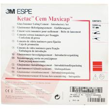 Ketac™ Cem Maxicap™ Glass Ionomer Luting Cement Capsule Introductory Kit with Activator