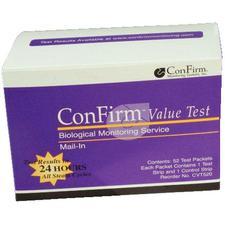 Système de surveillance de la stérililsation ConFirm® par la poste – Service de test de valeur, port dû, 52/emballage