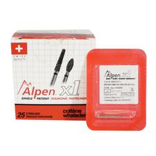 Alpen® x1 Single Use Diamond Burs – FGSS, 25/Pkg