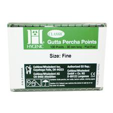 Gutta Percha Points, 100/Box