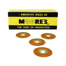 Paper Brass Center Abrasive Discs – Garnet, 50/Pkg