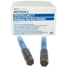 Canules émoussées endodontiques Monoject® – 25/emballage