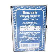 Bausch Arti-Check® Articulating Paper – Box with Sheets, 100 Sheets