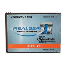 Real Seal 1™ Bonded Obturator Verifiers – Size 0.04/25, 6/Pkg
