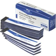 Patterson® Articulating Paper – 12 Books/Box