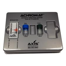 Achromat™ Esthetic Fiber Post System, Intro Kit