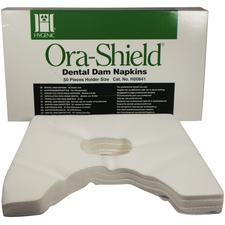 Hygenic® Ora-Shield® Dental Dam Napkin, 50/Pkg