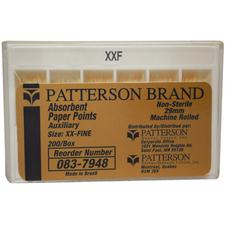 Patterson® Absorbent Paper Points – Nonsterile