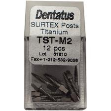 SURTEX™ Surface-Treated Titanium Post Refill – Medium, Length 9.3 mm, 12/Pkg