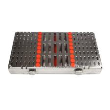 "IMS® Signature Series® Space Saver Seven™ Cassettes – 7 Instrument Capacity, 4.5"" x 8"" x 1"""