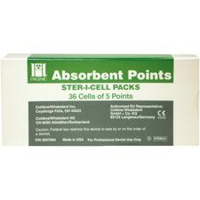 Hygenic® Absorbent Paper Points in Ster-I-Cells – Auxiliary Sizes, 180/Pkg