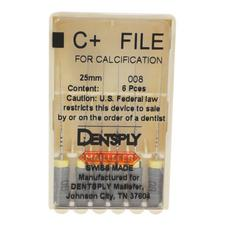 C+ Files – Size 08, 25 mm, Gray, Stainless Steel, 6/Pkg