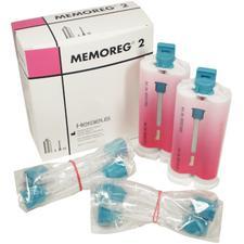 Memoreg™ 2 Bite Registration Material – 2 (50 ml) Cartridges, 12 Mixing Tips