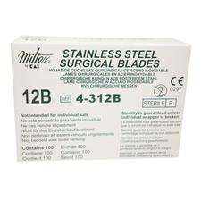 Surgical Blades – Stainless Steel, Sterile, 100/Box