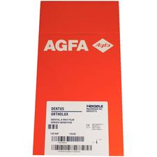 AGFA Dentus® Ortholux Film – ST8G, Green Sensitive, 100/Pkg
