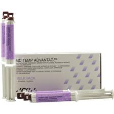 GC TEMP Advantage™ Temporary Cement – Syringes, Bulk Refill, 4/Pkg