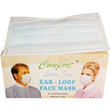 Comfort™ Earloop Masks – ASTM Level 1, Latex Free, 50/Pkg