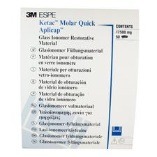 Ketac™ Molar Quick Aplicap™ Glass Ionomer Restorative Introductory Refill, 50/Pkg