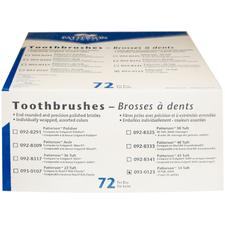 Patterson® 34 Tuft Toothbrushes, Sample
