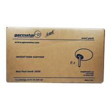 Mini-emballage de recharge de désinfectant pour les mains Original Germstar® – Sachet de 32 oz, 6/emballage