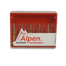Alpen® Multi Use Diamond Burs – FGSS, 5/Pkg