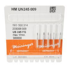Tungsten Carbide Burs – HM UN245 Amalgam Preparation FG, Size #245, 0.9 mm Diameter, 5/Pkg