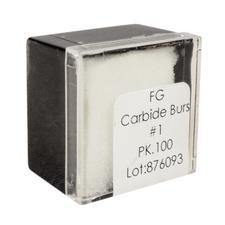 Tungsten Carbide Burs – HM 1 Round FG, 100/Pkg