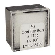 Tungsten Carbide Burs – HM 21R Straight Dome FG, 100/Pkg