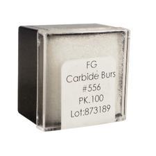 Tungsten Carbide Burs – HM 31 Straight Fissure Cross Cut FG, 100/Pkg