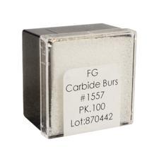 Tungsten Carbide Burs – HM 31R Straight Dome Cross Cut FG, 100/Pkg