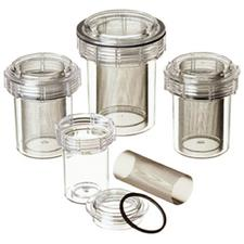 "Evac-u-Trap™ 2400  Disposable Canister – Internal Thread, 4-1/2"" x 5-1/8"", 8/Pkg"