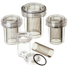 "Evac-u-Trap™ 2350-FS  Disposable Canister – Internal Thread, Fine Mesh 3-1/2"" x 4-3/8"", 8/Pkg"