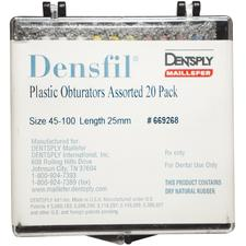 Densfil® Obturators Assorted Plastic Pack – 25 mm Length, 20/Pkg