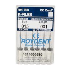 K-Files – 31 mm, 6/Pkg