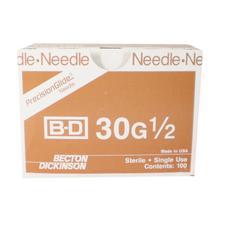 Aiguilles BD PrecisionGlide™ Luer-Lok® – Standard, collet de plastique, 100/boîte