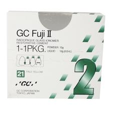 GC Fuji II® Glass Ionomer Restorative, 1:1 Powder/ Liquid Package