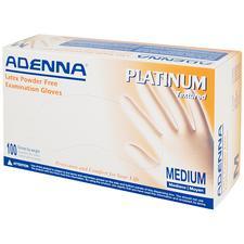 Adenna® Platinum Latex Exam Gloves, 100/Box