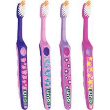 GUM® Razzle Dazzle® Toothbrush, 12/Pkg
