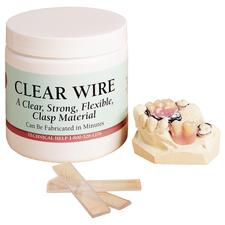 Clear Wire, 100 Strips/Pkg