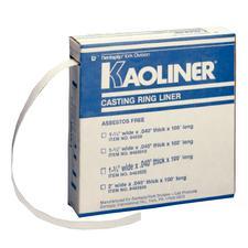 Kaoliner® Casting Ring Liner – 100' /Rolls