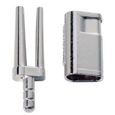 Bi-V-Pins With Sleeve