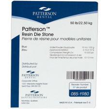 Plâtre-pierre en résine Patterson® – Bleu