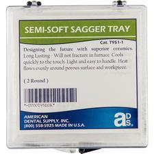Semi-Soft Sagger Trays, 2/Pkg