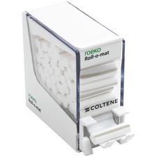 Distributeur de rouleaux de coton Roll-o-mat Roeko, plastique blanc
