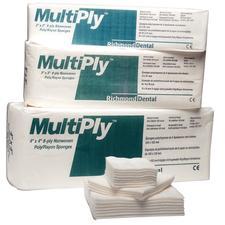 MultiPly™ Nonwoven Sponges, Nonsterile