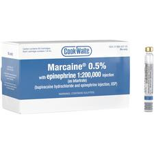 Cook-Waite Marcaine® – 1.8 ml Injection Cartridges, 50/Pkg