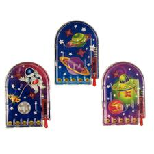 "Plastic Space Pinball Games, Assorted,  3-1/4"", 72/Pkg"