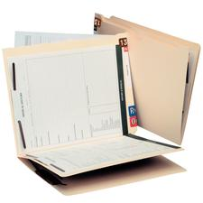 """The Works"" End-Tab Folders, 9-1/2"" x 12-1/4"", 25/Box"