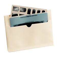 "11-pt End-Tab Folder with Outside Double Pockets With 2 Inside Fasteners, Positions 1 and 3, 9-1/2"" x 12-1/4"", 50/Box"